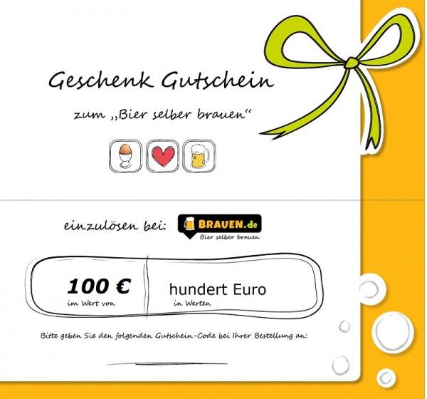 Brauen Gutschein für 100 Euro