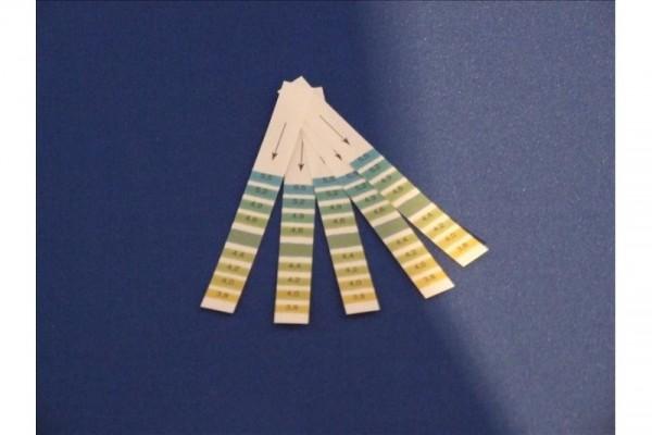 Wasserhärte Messstreifen (10 Stück)