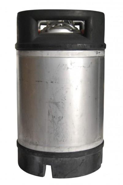 Bierfass Edelstahl / NC Druckfass / Soda-Keg 9,45 Liter