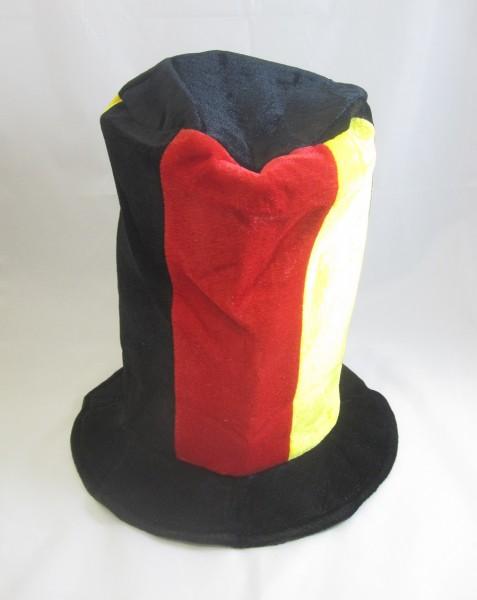 Partyhut Schwarz-Rot-Gold