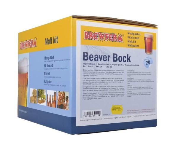 Fertige Malzmischung zum Brauen von 20Liter Beaver-Bock