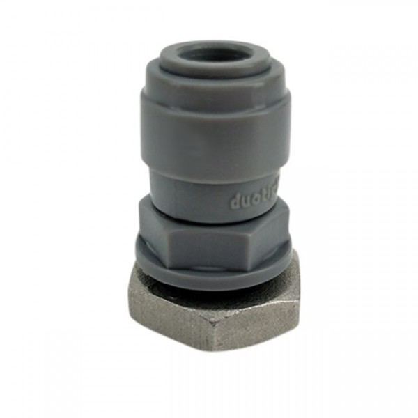 "Duotight 8 mm (5/16"") Schottverschraubung 1/4"" mit Mutter"