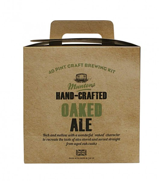 Bierpaket Muntons Hand-Crafted Oaked Ale, 3,6 kg