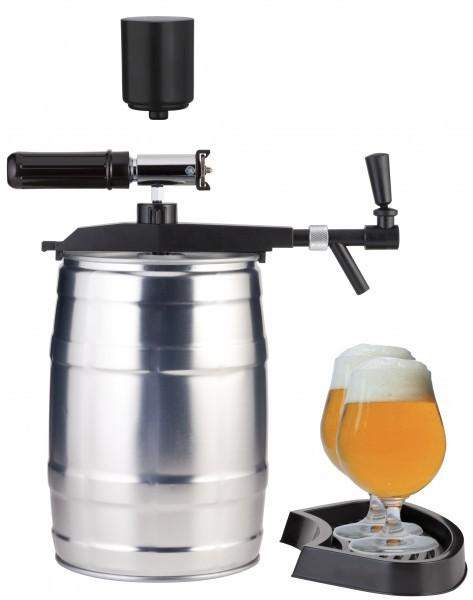 """Bier Zapfgerät für 5 Liter Partyfass """"Profi Tap"""" - Zapfananlage CO2 Automatic und Handpumpe"""