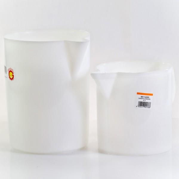 Messbecher aus Kunststoff mit Literskala 1l oder 3l oder 5l
