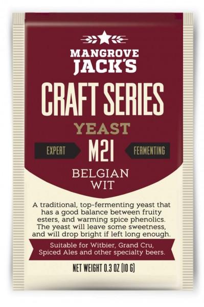Mangrove Jack's Craft Series 10 g - Belgian Wit M21 - Trockenhefe