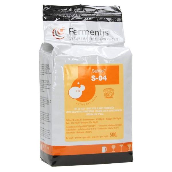 Fermentis trocken Bierhefe SafAle S-04 500 g