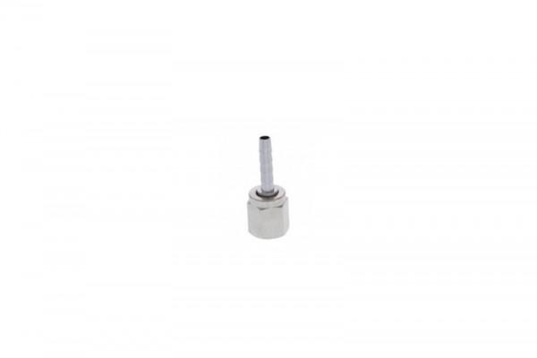 Schlauchtülle für Bierschlauch und Steckkupplung/ Ball-lock (Mutter, Nippel 4 mm, für Kupplung 7/16'