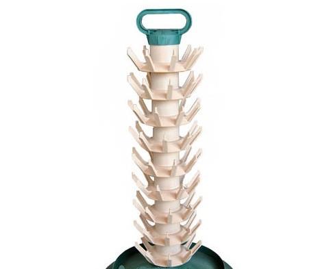 Abtropfständer Kunststoff für 81 Flaschen zerlegbar Abtropfgestell Flaschenbaum