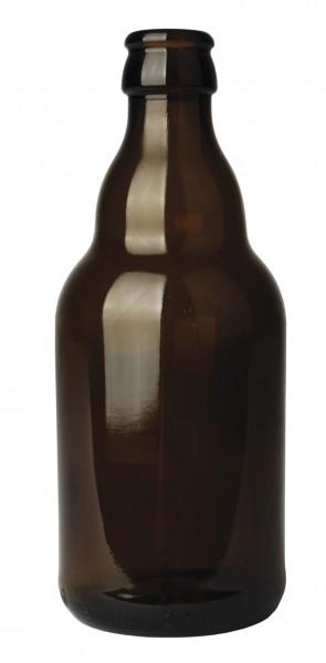 Bierflasche Steinie 33 cl, braun, im Karton 24 Stück 330ml