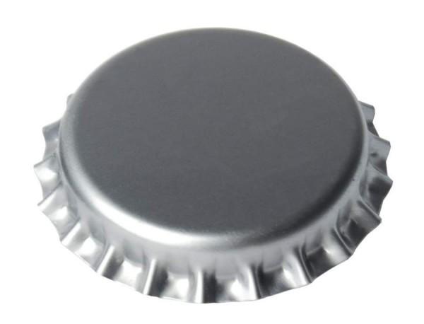 Kronenkorken 26 mm SILBER 500 Stück