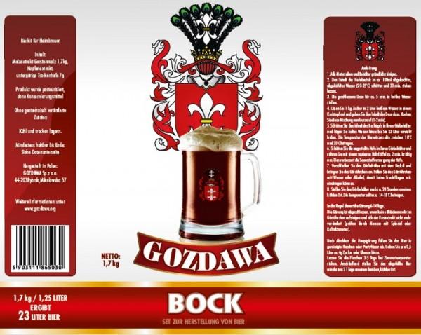 Bierkit GOZDAWA Bock - 1,7 kg zum Bierbrauen