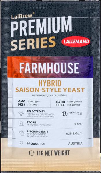 LalBrew® Farmhouse Hybrid Saison Trockenhefe 11 g