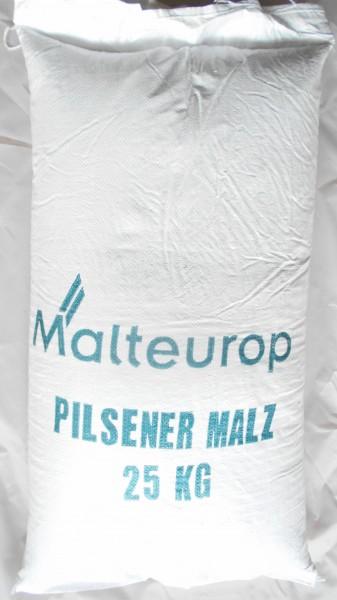 25 kg Pilsner Malz - Sackware ungeschrotet