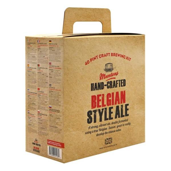 Bierpaket Muntons Hand-Crafted Belgian Style Ale, 3,6 kg