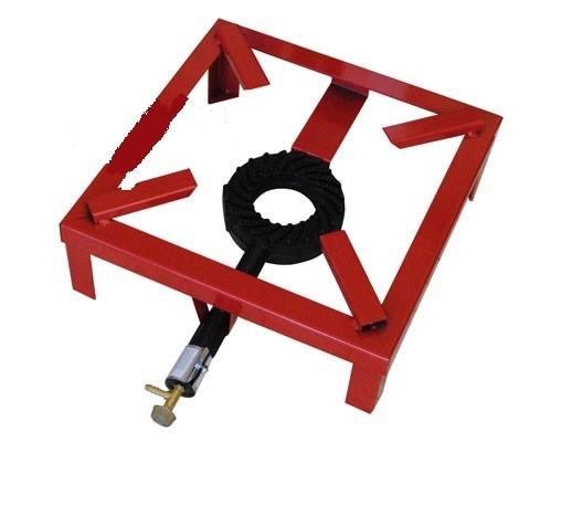 Gusseiserne Feuerstelle für Gas / Gasbrenner