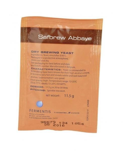 Fermentis Safbrew ABBAYE 11,5g obergärige Bierhefe