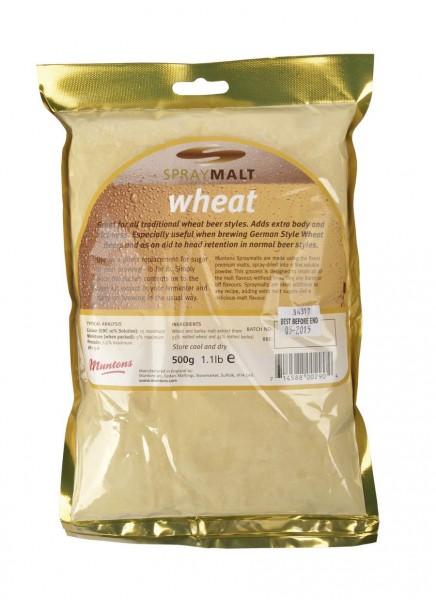 Malzextrakt Pulver Muntons Weizen 500 g (12 EBC) Trockenmalz