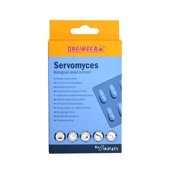 Brewferm Servomyces Hefenährstoff - 6 Kapseln