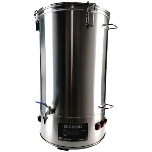 Spülwassererwärmer - Boiler in 2 Größen für bis zu 35 oder 65 Liter Nachguss