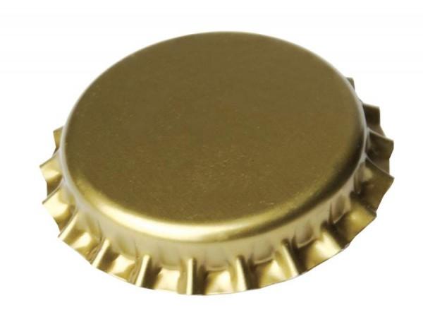 Kronenkorken 26 mm GOLD 500 Stück