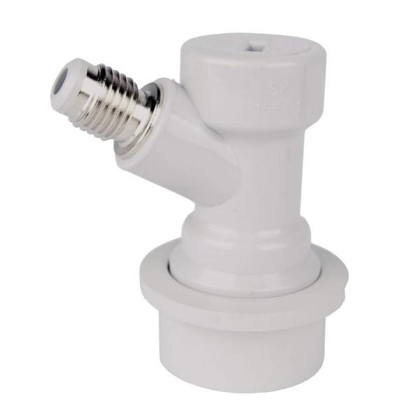 Steckkupplung CO&#8322 / Gas für Soda-Keg / NC Druckfass - Ball-lock