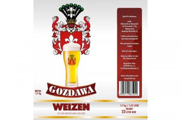 Bierkit GOZDAWA Weizenbier - 1,7 kg zum Bierbrauen