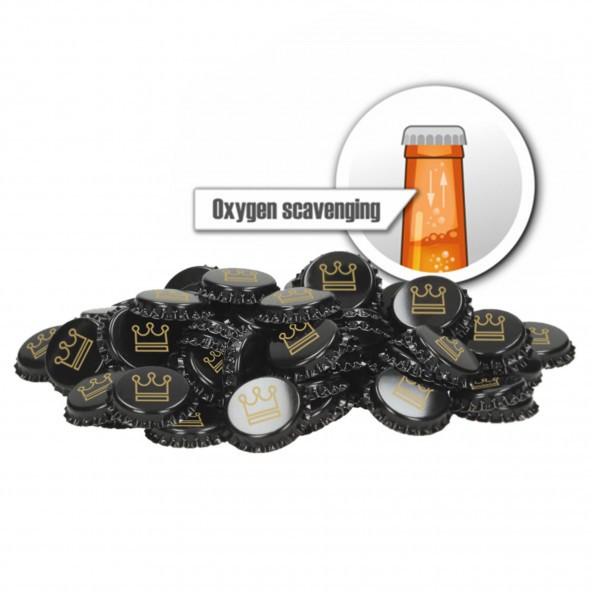 500 Stück Kronkorken 26 mm - sauerstoffabsorbierend - Kingdom -