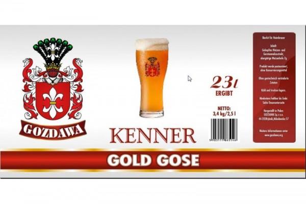Bierkit GOZDAWA Gold Gose - 3,4 kg