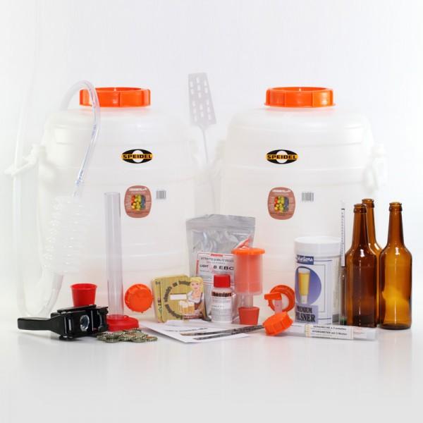 Speidel Komplettausstattung für Bierkit-Brauer