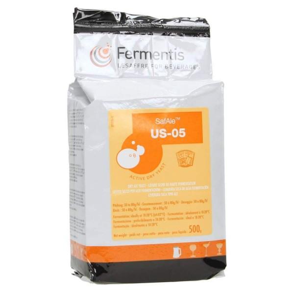 Fermentis trocken Bierhefe SafAle US-05 500 g