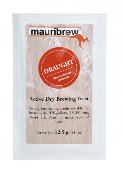 Mauribrew Draught - 12,5g obergärige Bierhefe