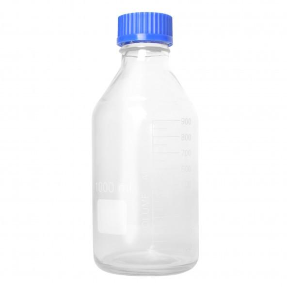 Hefeflasche Glas sterilisierbar 1000 ml