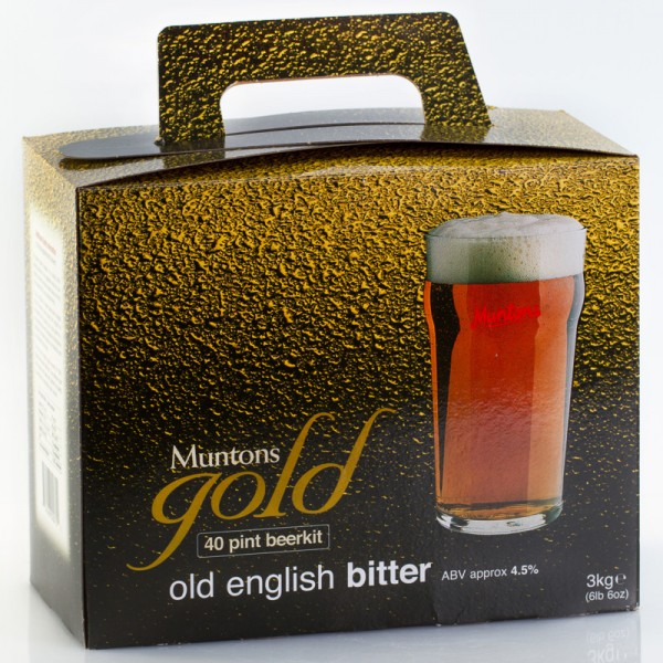 Muntons Gold Old English Bitter Bierkit