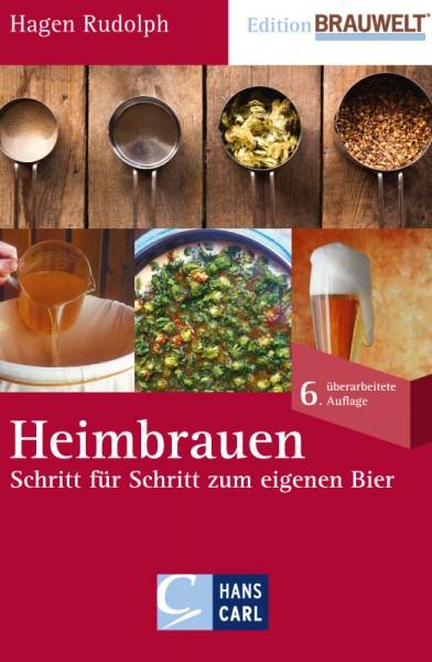 Heimbrauen Schritt für Schritt zum eigenen Bier Buch von Rudolph Hagen inkl. Rezepte / 5. überarbeit
