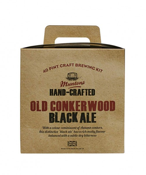 Bierpaket Muntons Hand-Crafted Old Conkerwood Black Ale, 3,6 kg