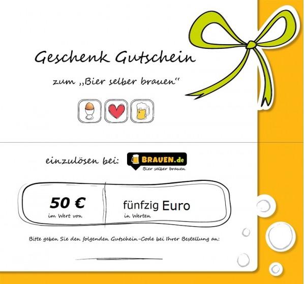 Brauen Gutschein für 50 Euro