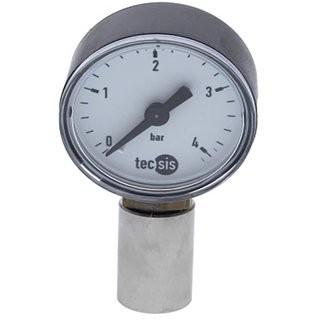 CO&#8322 Druckmesser für NC und CC Kupplungen (7/16') für Soda Keg