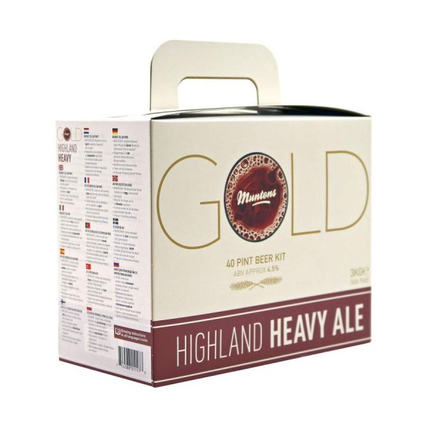 Bierkit Muntons Gold Highland heavy ale 3 kg