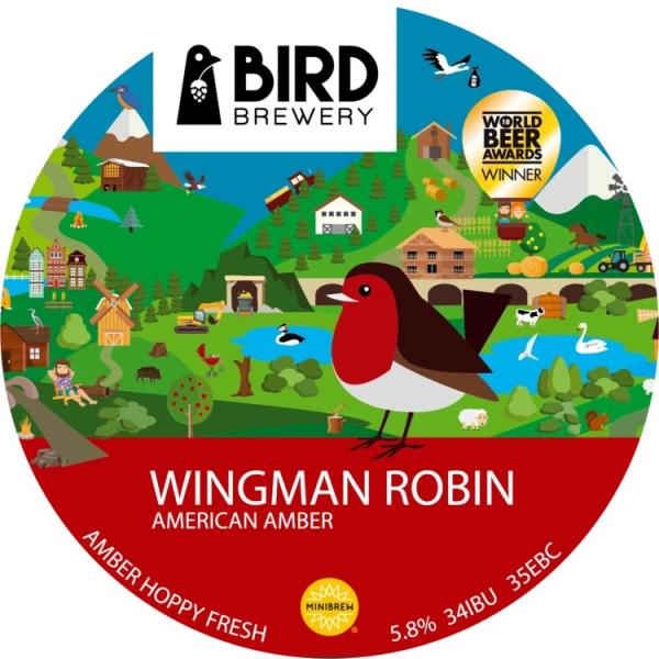 """""""Wingman Robin"""" - Braupaket 5 Liter"""