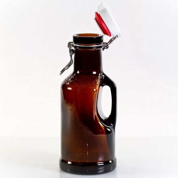 Hopfenkrug 1 Liter braun