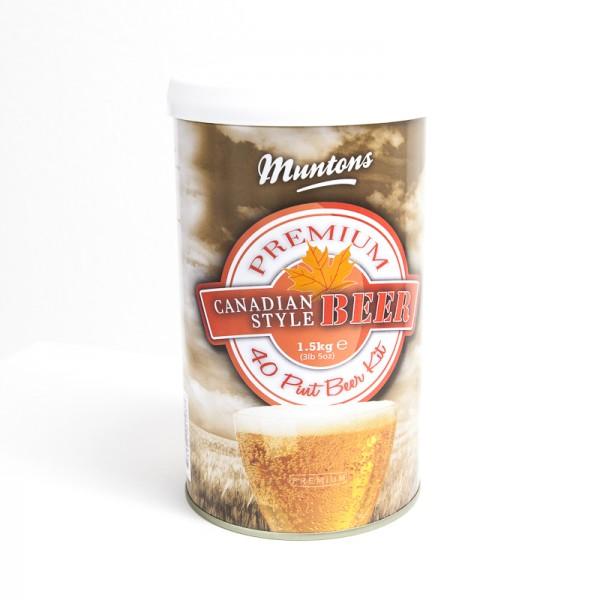 Bierkit MUNTONS Kanadisch Hell