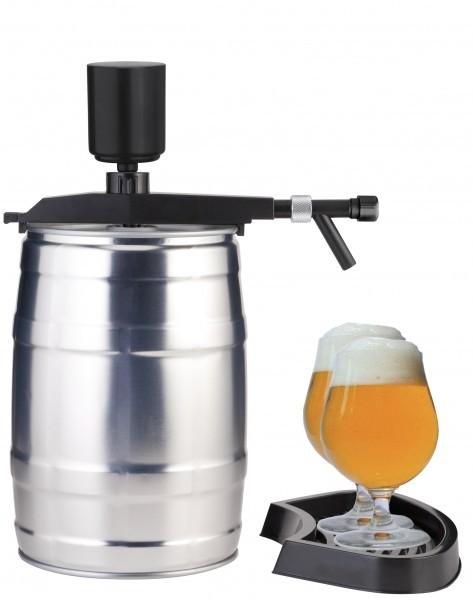 """Bier Zapfgerät für 5 Liter Partyfass """" Flexi Tap """" - Zapfananlage mit Handpumpe ohne CO2"""