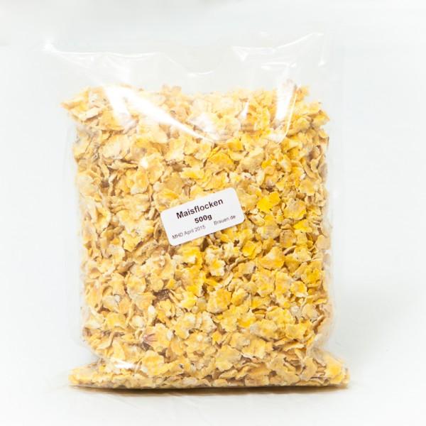 500g Maisflocken zur Bierherstellung