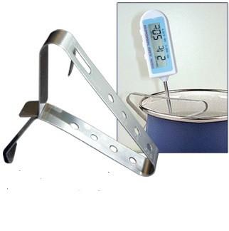 Edelstahl Thermometer-Klemme Halteclip