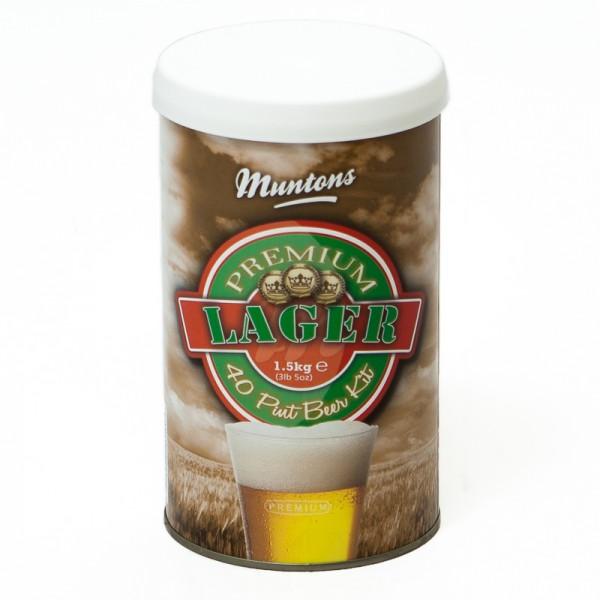 Bierkit MUNTONS Premium Lager