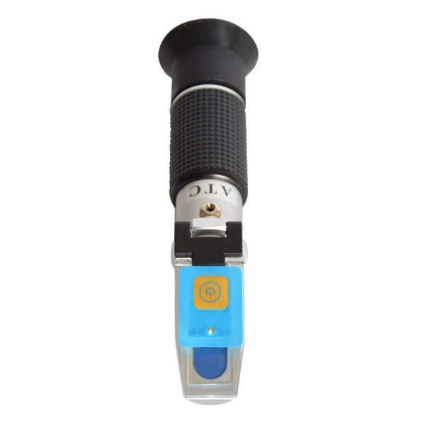 Abdeckung mit LED für Refraktometer