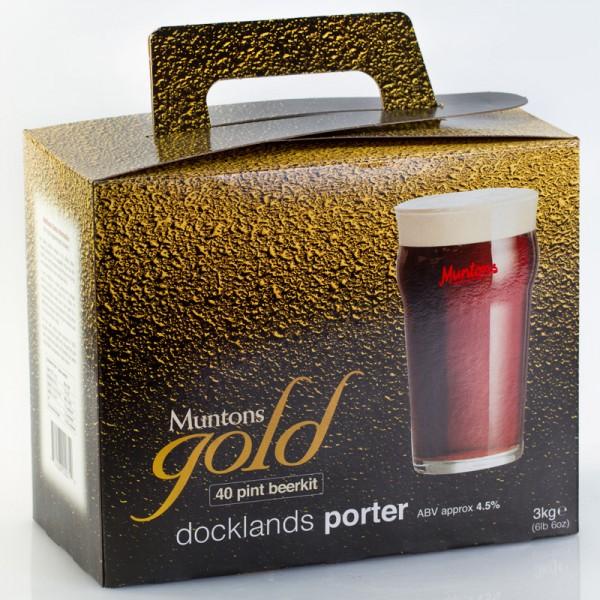 Muntons Gold Dockland Porter Bierkit