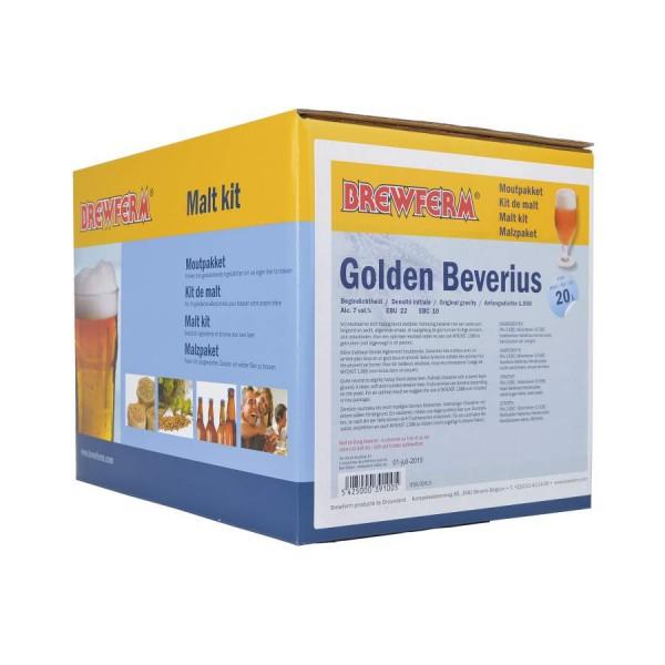 Fertige Malzmischung zum Brauen von 20Liter Golden Beverius Klosterbier