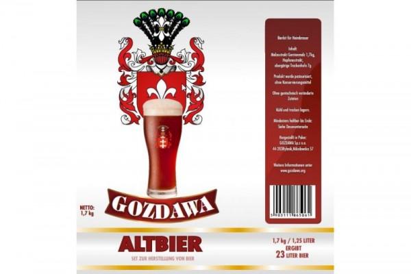 Bierkit GOZDAWA Altbier - 1,7 kg zum Bierbrauen
